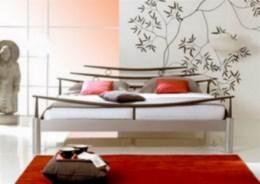 Kovová postel Shanghai 90x200