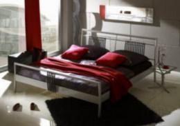 Kovová postel Tek 1 90x200 - DOPRAVA ZDARMA