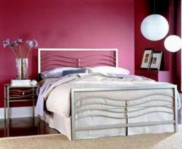 Kovová postel Renáta 90x200