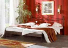 Kovová postel Rio 90x210