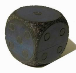 Šperkovnice, krabièka - døevìná , kostka modrá