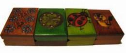 Šperkovnice, krabièka - døevìná, malé