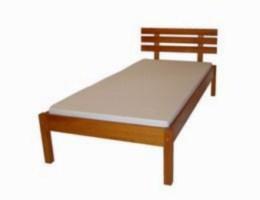 Døevìná postel Zeus 140x200