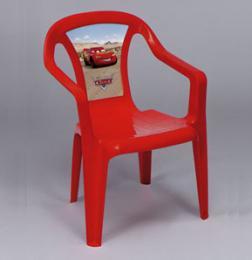 Dìtská židlièka - èervená