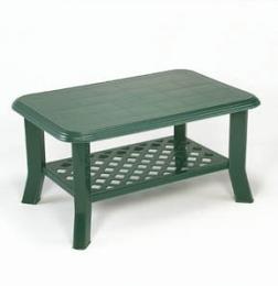 Zahradní plastový stùl Niso - zelený