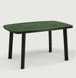Zahradní plastový stùl Faro - zelený