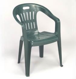 Zahradní plastová židle Piona - zelená