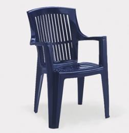 Plastová židle Arpa - modrá