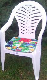 Polstr - sedák na židli 40x40x1,5 - 4ks