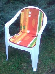 Polstr na nízkou židli 80x40x1,5 set 4ks
