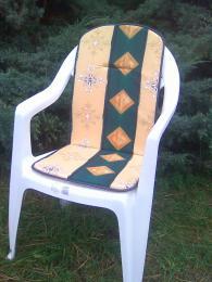 Polstr na vysokou židli 94x40x2 set 4ks