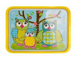 BANQUET Tác melaminový 30x21,5 cm OWL