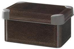 Dekorativní úložný box Curver 3,5 L Leather