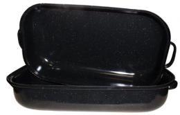 Pekáè - smaltovaný dvojpekáè - 240606