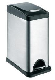 Odpadkový koš nerezový 8L