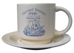 Šálek s podšálkem Harvest-590350