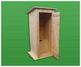 WC - døevìná toaleta 3