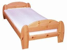 Døevìná postel Gina 90x200