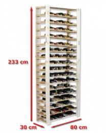 Regál na víno - max 4