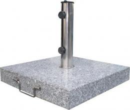 Podstavec ètvercový na sluneèník - 30 kg šedý granit