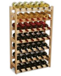 Regál na víno 42 lahví