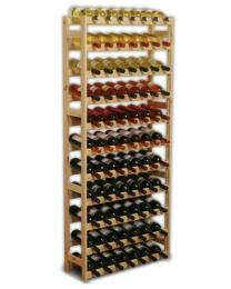 Regál na víno - 77 lahví