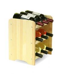Regál na víno na 9 lahví