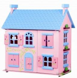 Døevìný domek pro panenky Arabela