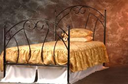 Kovová postel Pamela 90x200 - zvìtšit obrázek