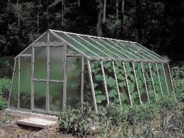 Pozinkovaný skleník L 3