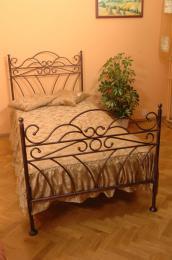 Kovová postel Wiking 90x200