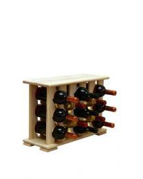 Regál na víno na 13 lahví