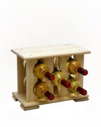 Regál na víno na 5 lahví