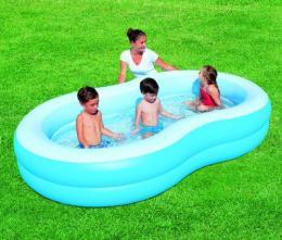 Modrý bazének 262x157x46