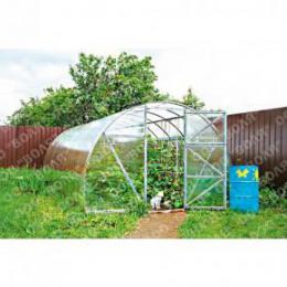 Skleník zahradní ECONOM 8x3m oblouk, polykarbonát