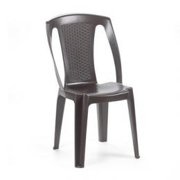 Zahradní plastová židle Procida - hnìdá