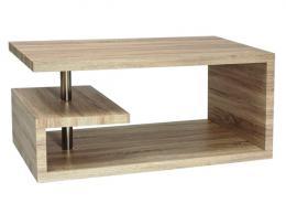 Konferenèní stolek Eva - dub bílý - DOPRAVA ZDARMA
