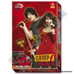 Hrací karty Disney Camp ROCK