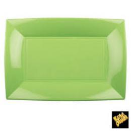 Plastový tácek zelený 3ks