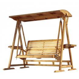 Teaková houpací lavice Avanti