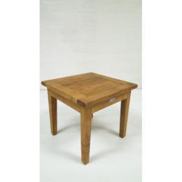 Teakový stolek pevný 50x50 cm