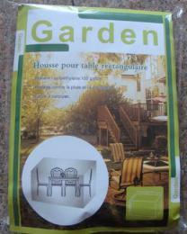 Plachta na zahradní stùl a židle 203x102x69