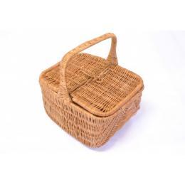 Koš Piknik z vrbového proutí, délka 40 cm
