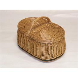 Koš Piknik z vrbového proutí, délka 45 cm