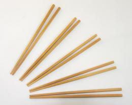 Bambusové jídelní hùlky 5 párù