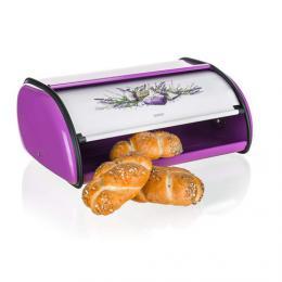Kovový chlebník LAVENDER 36 cm