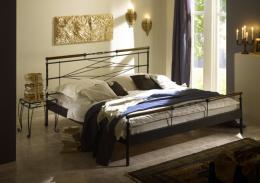 Kovová postel Kelly 140x200