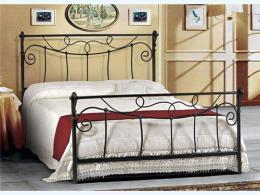 Kovová postel Nora 160x200 cm