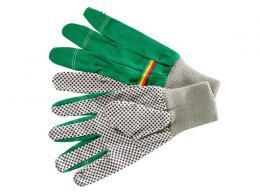 Zahradní pracovní rukavice s protiskluzovým povrchem - 2 páry