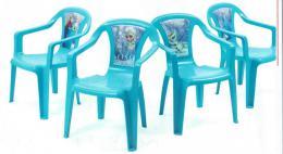 Dìtská židlièka Frozen- modrá